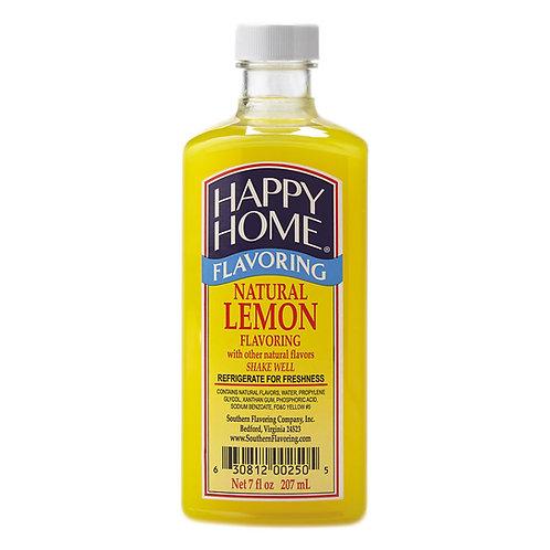Happy Home Natural Lemon Flavoring 7 oz.