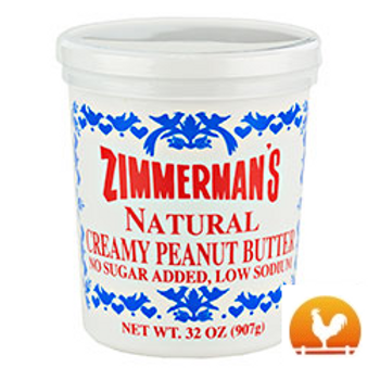 Zimmermans's® Natural Peanut Butter, 32 Oz