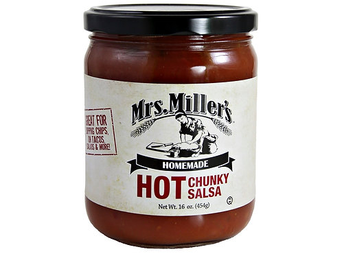 Mrs. Miller's® Hot Salsa, 16 oz.