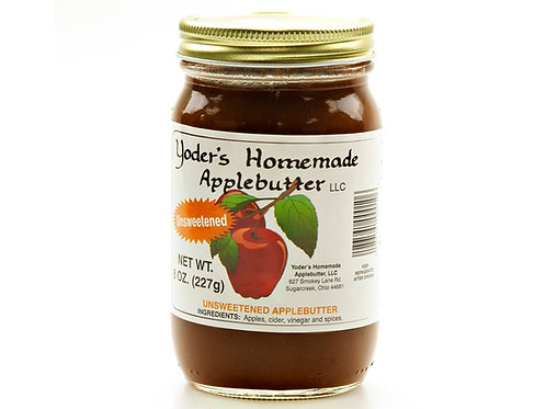 Yoder's® Homemade Unsweetened Apple Butter, 8 Oz