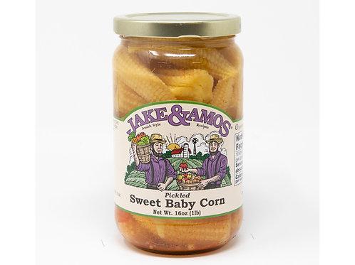 Jake & Amos® Pickled Sweet Baby Corn, 16 Oz