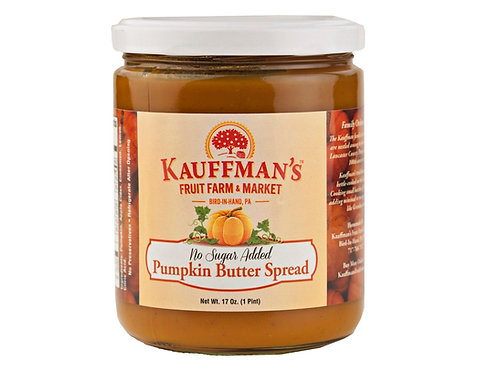 Kauffman's® No Sugar Added Pumpkin Butter, 17 Oz