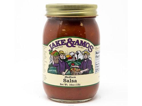 Jake & Amos® Medium Salsa, 16 oz.