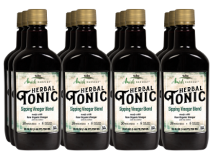 Herbal Tonic, 25 Fl Oz CASE (12ct)
