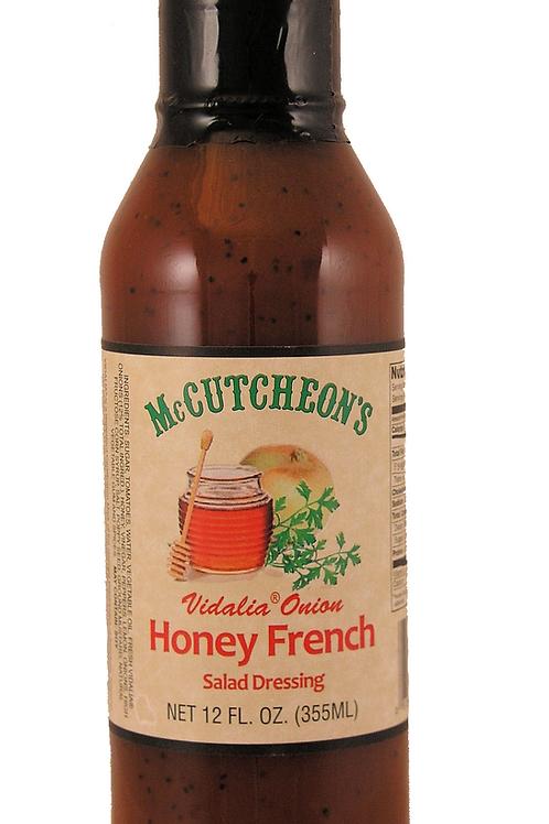 McCutcheon's Vidalia Onion Honey French Dressing, 12oz
