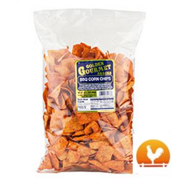 Golden Gourmet BBQ Corn Chips, 16 Oz