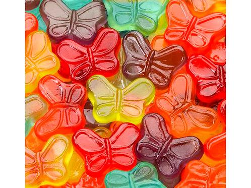 Mini Gummi Butterflies, .75 Lb