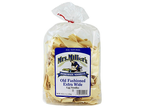 Mrs. Miller's Old Fashioned Extra Wide Noodles, 16 oz.