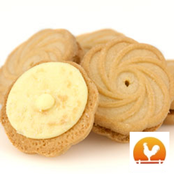 Lemon Creme Cookies, .75 Lb