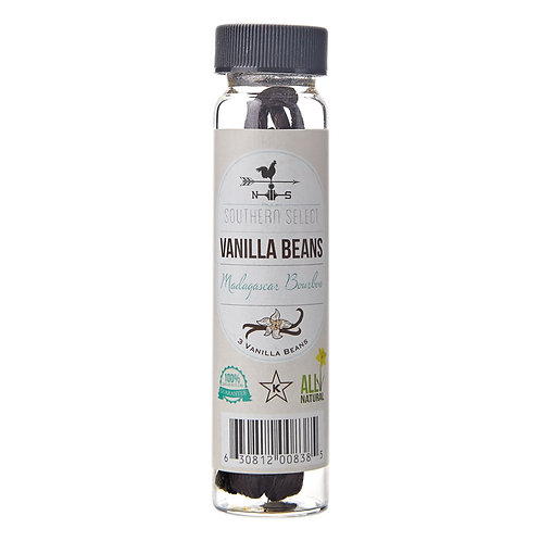 Happy Home Baker's Select Vanilla Beans 3 ct.