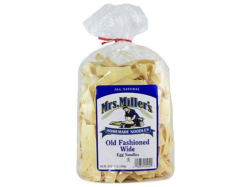 Mrs. Miller's Old Fashioned Wide Noodles, 16 oz.