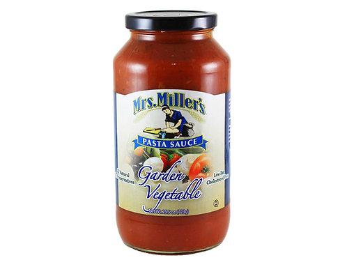 Mrs. Miller's Garden Vegetable Pasta Sauce, 25.5 oz.