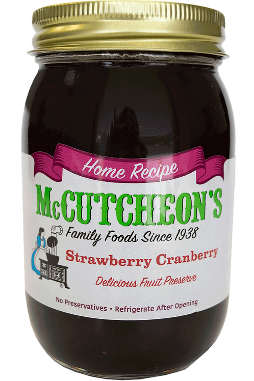 McCutcheon's Strawberry Cranberry Preserves, 20 oz