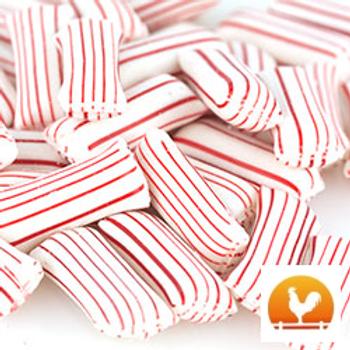 Yoder's Mint Cream Straws, .85 Lb