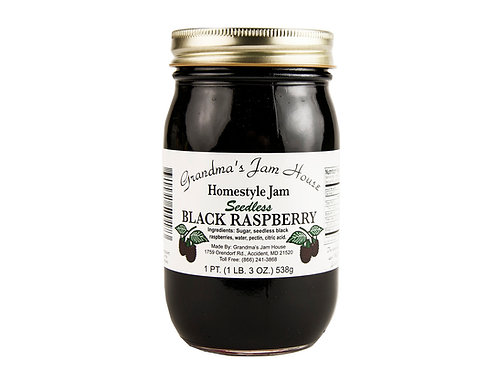 Grandma's Jam House® Seedless Black Raspberry Jam, 19 Oz