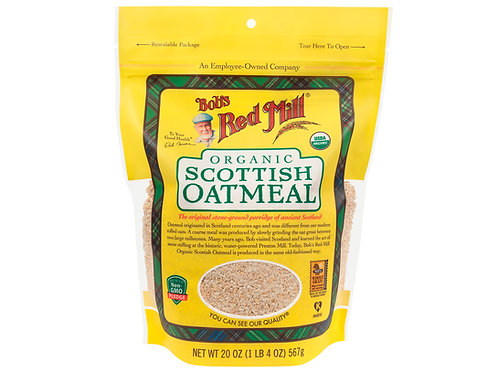 Organic Scottish Oatmeal 20 oz.