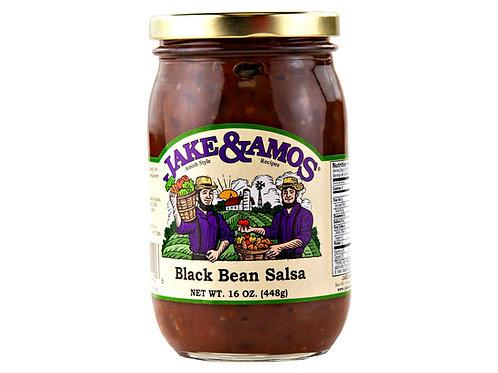 Jake & Amos® Black Bean Salsa, 16 oz.