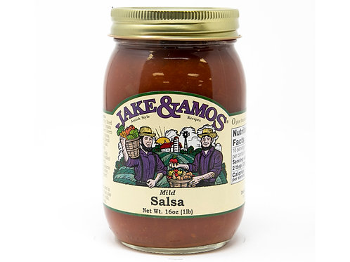 Jake & Amos® Mild Salsa, 16 oz.