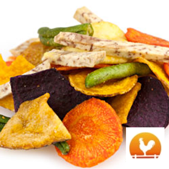 Crisp Vegetable Chips, .25 Lb