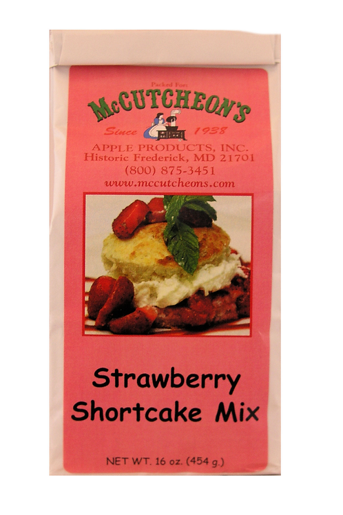 Strawberry Shortcake Mix 16 oz.