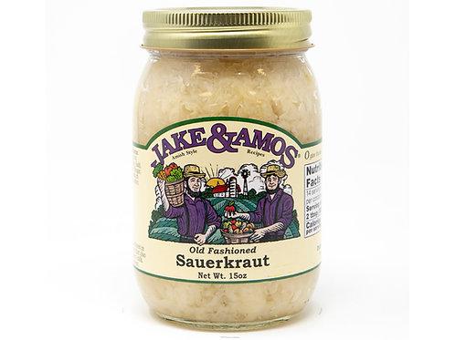 Jake & Amos® Old Fashioned Sauerkraut, 15 oz.