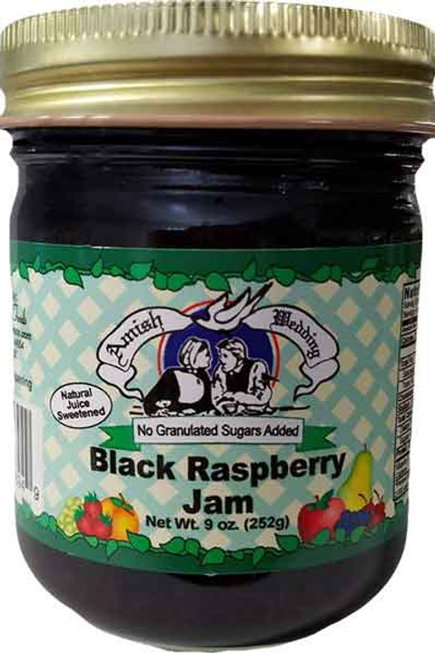Amish Wedding® NSA Black Raspberry Jam, 9 Oz