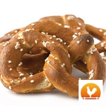 Yoder's Salted Handmade Dutch Pretzels, .50 Lb