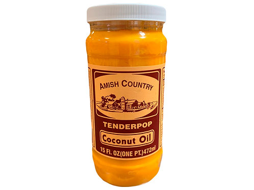 Butter Flavored Coconut Oil 15 oz.