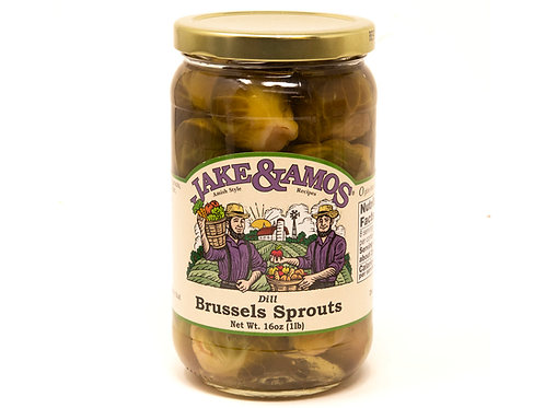 Jake & Amos® Pickled Dill Brussel Sprouts, 16 Oz