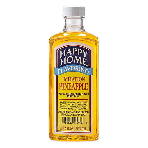 Happy Home Imitation Pineapple Flavoring 7 oz.