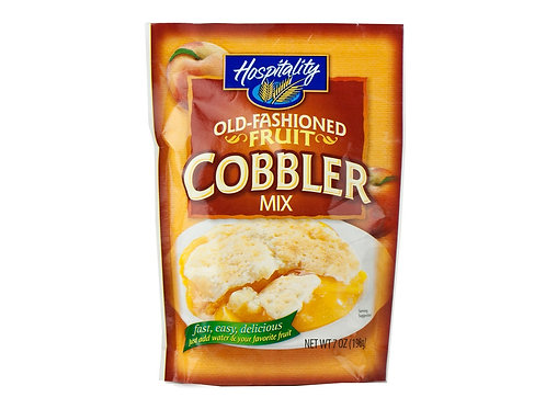 Hospitality Fruit Cobbler Mix, 7 Oz