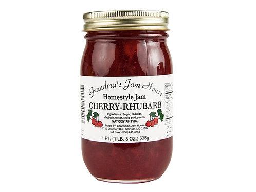 Grandma's Jam House® Cherry Rhubarb Jam, 19 Oz