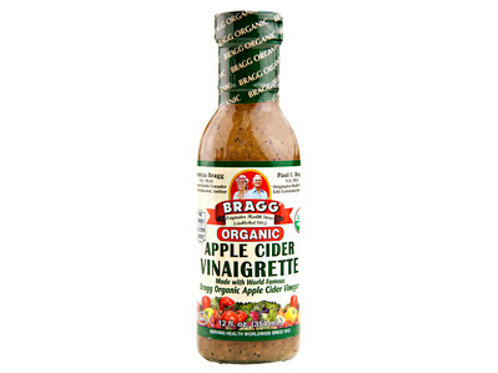 Bragg Organic Apple Cider Vinaigrette, 12oz