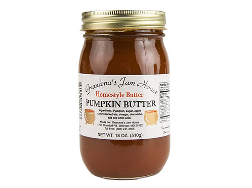 Grandma's Jam House® Pumpkin Butter, 18 oz.