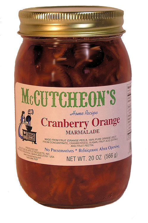McCutcheon's Cranberry Orange Marmalade, 20 oz.