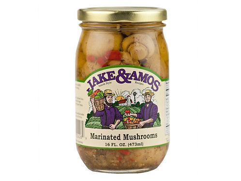 Jake & Amos® Marinated Mushrooms, 16 oz