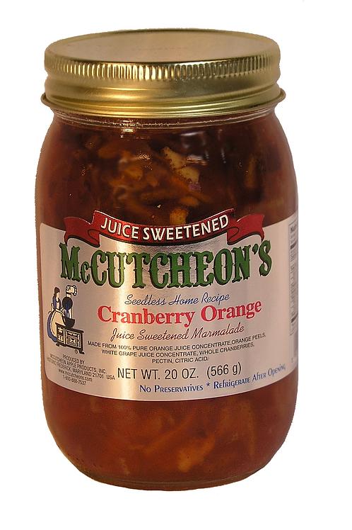McCutcheon's JS Cranberry Orange Marmalade, 20 oz.