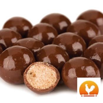 Reduced Sugar Chocolate Malt Balls, .50 Lb