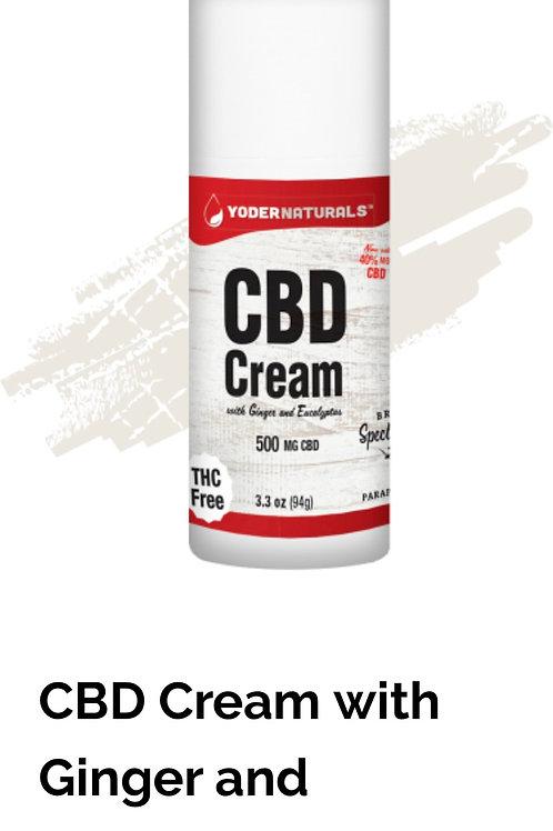 Yoder Naturals 500 MG CBD Cream