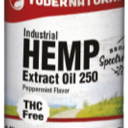 Yoder Naturals Industrial Hemp Extract, 250 mg., 1oz(30ml)