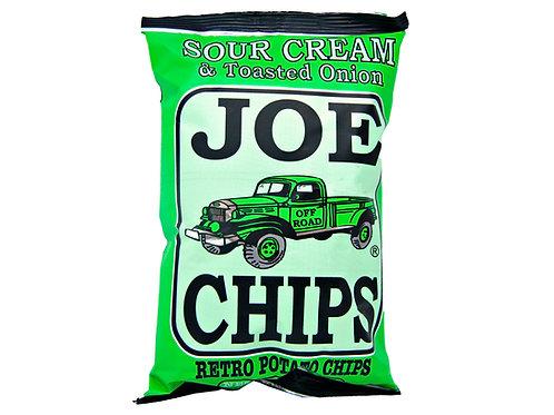 Joe's Sour Cream & Toasted Onion Chips 2 oz.
