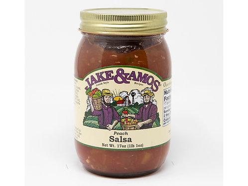 Jake & Amos® Peach Salsa, 17 oz.