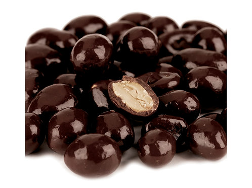 No Sugar Added Dark Chocolate Peanuts, .65 Lb