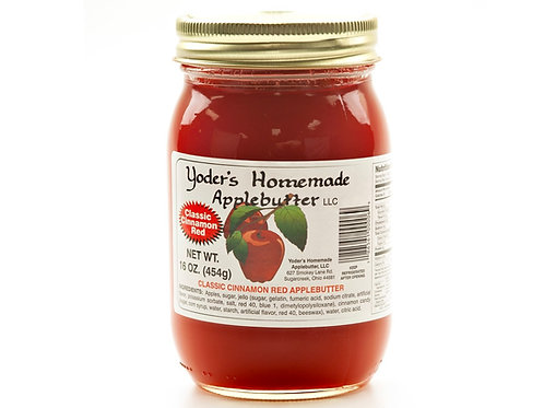 Yoder's® Homemade Classic Red Apple Butter, 16 Oz