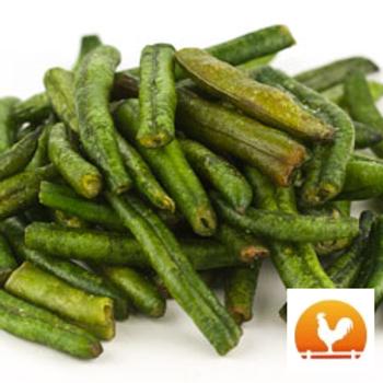 Green Bean Crisps, .45 Lb