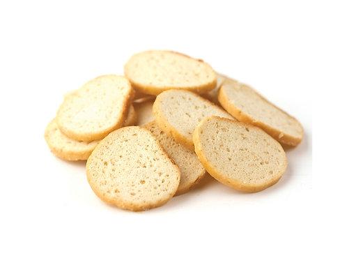 Sea Salt Bagel Chips .50 lb.
