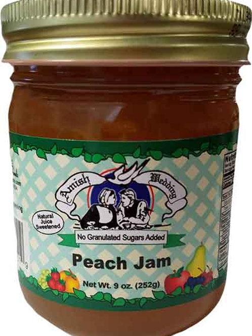 Amish Wedding® NSA Peach Jam, 9 Oz