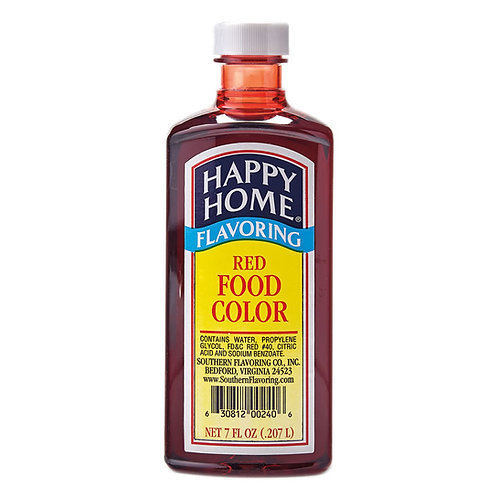 Happy Home Red Food Coloring 7 oz.