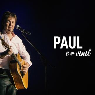 """Paul McCartney:""""vinil é mais sofisticado"""""""