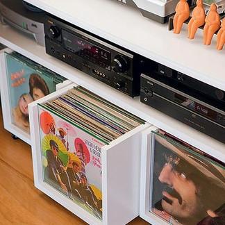 13 móveis incríveis para guardar seus LPs!